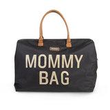 Childhome Mommy Bag Verzorgingstas Black Gold
