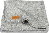 Jollein ledikantdeken gebreid 100x150 Stonewashed Grey