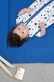 Meyco baby Slaapzak zomer Dots Bright Blue