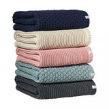 Joolz Essentials Blanket Ribbed Blauw_