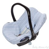 Baby Anne-Cy Autostoelhoes en Voetenzak Oslo Butterfly Cable Baby Blue