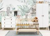 Bopita 3-delige babykamer Indy Wit / Naturel