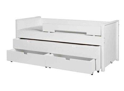 Bopita Combiflex Compactbed met Sleep & Store Unit Wit