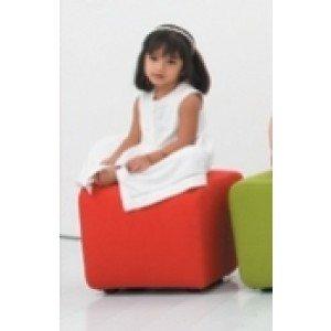 Coming Kids Mini Moli Poef Rood