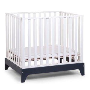 Childhome Box 96 Wit frame Navy Blue