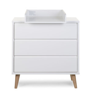 Childhome Retro Rio White Commode 3 laden