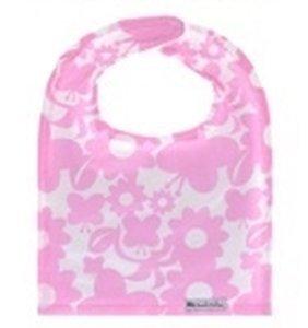 Bazzle Baby Big Bib Slab Pink Butterfly 2 stuks