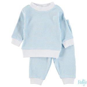 Feetje Wafel Pyjama Azuur