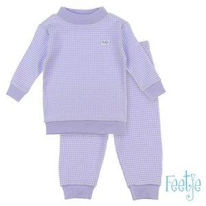Feetje Wafel Pyjama Lila Autumn Special