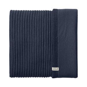 Joolz Essentials Blanket Ribbed Blauw