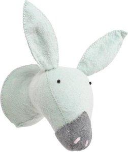 Kidsdepot Dierenhoofd Donkey / Ezel Mint