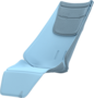 Quinny Seat Liner Sky